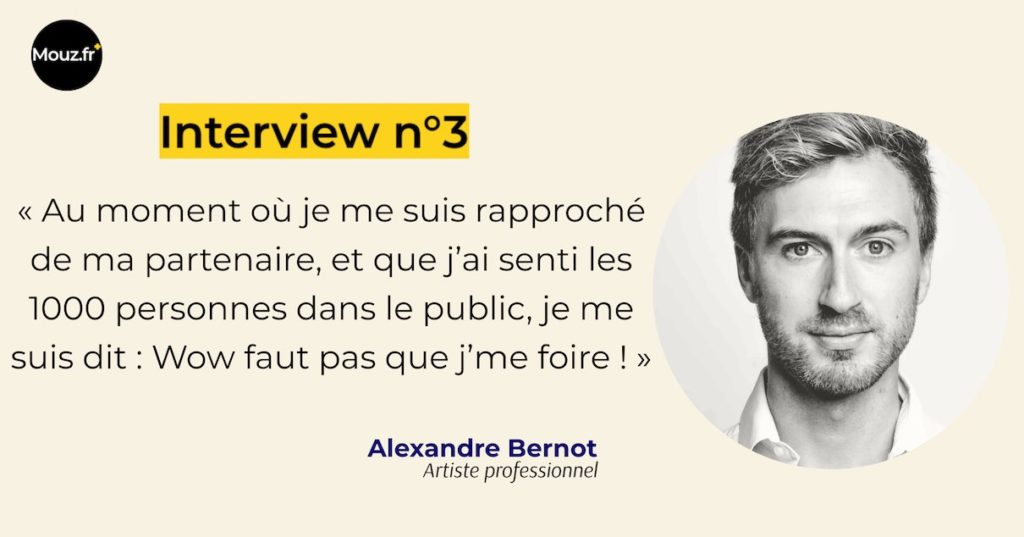 Alexandre artiste interview n°3